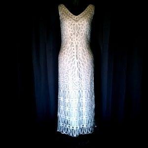 Stunning VTG Crochet Dress